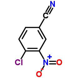 4-Chloro-3-nitrobenzonitrile CAS:939-80-0
