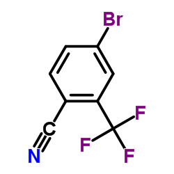 4-Bromo-2-(trifluoromethyl)benzonitrile CAS:191165-13-6