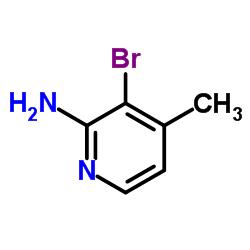 3-Bromo-4-methyl-2-pyridinamine CAS:40073-38-9