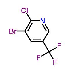 3-Bromo-2-chloro-5-(trifluoromethyl)pyridine CAS:71701-92-3