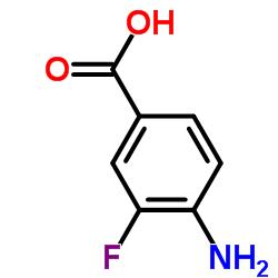 4-Amino-3-fluorobenzoic acid CAS:455-87-8
