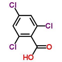 2,4,6-Trichlorobenzoic acid CAS:50-43-1