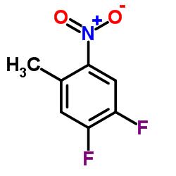 1,2-Difluoro-4-methyl-5-nitrobenzene CAS:127371-50-0